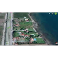 Livanates - Skala Attalanti plot of 8000sqm with building tangent to the sea